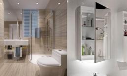 Phòng tắm được trang trí theo cách này, không gian lưu trữ đẹp hơn