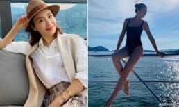 'Đệ nhất mỹ nhân TVB' Lê Tư gây sốt với thân hình quyến rũ dù đã 50 tuổi