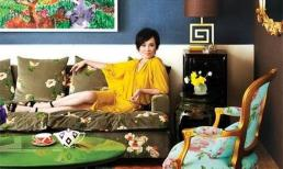 Choáng ngợp với nội thất bên trong biệt thự xa hoa của Lưu Gia Linh