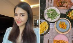 Bữa cơm ở cữ của phu nhân tập đoàn nghìn tỷ Phanh Lee có gì?