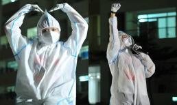 Tóc Tiên mặc đồ bảo hộ trình diễn hết mình ở bệnh viện dã chiến, lâu không hát còn sợ quên lời