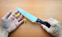 Tôi nên làm gì nếu dao nhà bếp bị cùn? Bậc thầy mài dao 30 năm dạy bạn một mẹo, trong 20 giây, con dao nhà bếp sắc bén và ngọt như thái bùn!