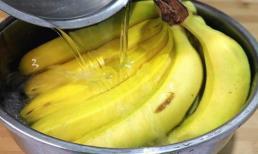 Chủ cửa hàng hoa quả dạy mẹo bảo quản, chuối sẽ không bị thối hoặc chuyển sang màu đen sau nửa tháng