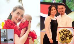 Sao Việt 1/9: Đang ở nhà vệ sinh, Hà Hồ cũng 'không yên' với con gái; Hứa Minh Đạt tặng chiếc bánh độc lạ cho vợ nhân dịp sinh nhật