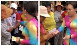 Chứng kiến cảnh mua vé số 'bá đạo' của Việt Hương nhưng sao ai cũng khen?