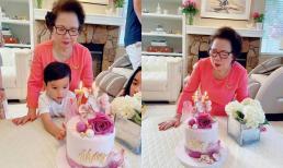 Hoa hậu Phạm Hương hiếm hoi khoe mẹ chồng, tổ chức sinh nhật cho phụ huynh tại biệt thự tiền tỷ