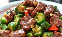 Hai loại thực phẩm này được xào cùng nhau ăn rất ngon và bổ dưỡng