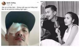 Diễn viên Quốc Cường đăng ảnh bị thương phải băng một bên mắt khiến dàn sao Việt lo lắng