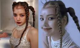 Lisa (BlackPink) gây tranh cãi khi lộ trán ''sân bay'' sau thời gian dài được che kín bởi tóc mái ngố