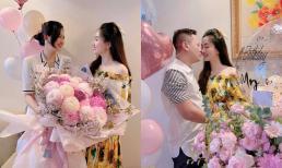 Á hậu Ngô Trà My đón sinh nhật tuổi 29 giản dị bên chồng đại gia, nhan sắc còn 'lấn lướt' cả em gái Thanh Tú
