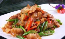 Hãy nhớ bước quan trọng của món thịt heo xào! Thịt heo xào không có dầu mỡ và ăn ngon hơn