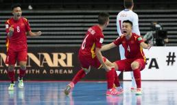 Lập chiến tích huy hoàng, đội tuyển Việt Nam chạm trán Nga ở vòng 1/8 World Cup futsal 2021