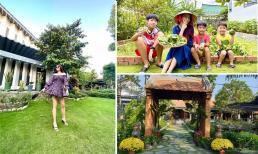 Không gian nhà vườn 600 m2 của vợ chồng Kiwi Ngô Mai Trang