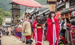 Nghi lễ rước dâu lạ lùng ở Nhật Bản khiến cô gái nào lấy chồng cũng 'toát mồ hôi'