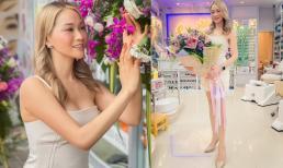 Hoa hậu doanh nhân Xuân Nguyễn khoe vẻ đẹp tỏa nắng và vóc dáng gợi cảm