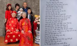 Xúc động trước bài thơ mà mẹ diễn viên Nguyệt Hằng viết cho người chồng đã mất