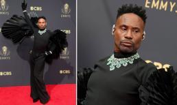 Tài tử từng thừa nhận nhiễm HIV gây sốt thảm đỏ Emmys 2021 khi mang bộ trang sức kim cương hơn 22 tỷ trên người