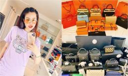 Con dâu tỷ phú Hoàng Kiều gây sốc khi một lần shopping ôm về nhà 10 túi Hermes và 10 túi Chanel