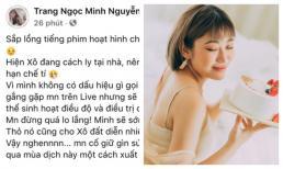 Ca sĩ Lương Minh Trang xác nhận nhiễm Covid-19