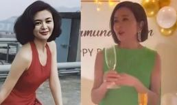 'Đệ nhất mỹ nhân Hong Kong' Quan Chi Lâm nhận 'mưa' lời khen về nhan sắc trong ngày sinh nhật tuổi 59