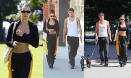 Bella Hadid dạo phố cùng em trai 'cực phẩm' nhưng fan nữ chỉ dán mắt vào cơ bụng hoàn hảo của người đẹp