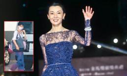 Trương Mạn Ngọc gầy gò, chỉ còn da bọc xương ở tuổi U60 khiến người hâm mộ xót xa