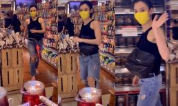 Trương Bá Chi tuổi 41 diện áo hai dây và quần rách gối như gái teen khi đi siêu thị, ngày càng nhuận sắc sau tin đồn có tình mới