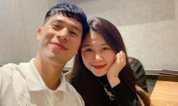 Cầu thủ Đình Trọng chúc mừng sinh nhật bạn gái, Duy Mạnh liền nhắn 'cưới đi, yêu lâu quá rồi'
