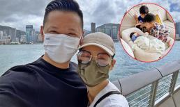 Hồ Hạnh Nhi cùng chồng 'trốn' 3 con đi hẹn hò sau thời gian xa cách