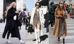 Phái đẹp, dù dáng người như thế nào, hãy thử diện hai loại 'giày' khi kết hợp với áo khoác mùa thu, vừa thời trang lại vừa tôn được đôi chân dài miên man