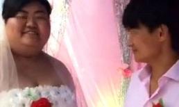 Bị chế giễu trong ngày vui vì cưới vợ nặng 150 kg, chú rể nói một câu khiến quan khách nín lặng