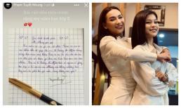 Con gái nuôi Phi Nhung viết thư tay cho người mẹ quá cố, tiết lộ chi tiết liên quan Hồ Văn Cường