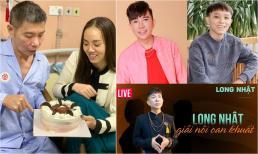 Sao Việt 17/10: Bà xã đăng ảnh nghệ sĩ Công Lý cắt bánh sinh nhật ở bệnh viện; Long Nhật tìm ra kẻ đứng sau dùng tiền sai một ca sĩ khác hại mình
