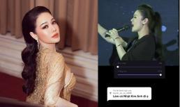 Nhật Kim Anh bị soi giọng hát thật hậu ồn ào sao kê