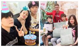 Hậu lùm xùm của Hồ Văn Cường, Long Nhật vui vẻ đón sinh nhật bên vợ và các con