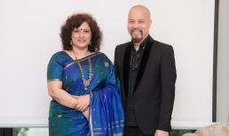 NTK Đức Hùng chia sẻ về áo dài tại buổi giao lưu văn hoá truyền thống giữa Việt Nam và Ấn Độ