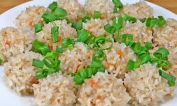 Ăn gạo nếp thế này sướng quá, bổ và thèm, cắn một miếng còn thơm hơn ăn thịt, cá to