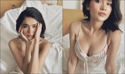 Á hậu Thùy Dung gây sốt với bộ ảnh 'giường chiếu' đầy quyến rũ