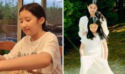 Con gái của 'Nàng Dae Jang Geum' lớn phổng: Thừa hưởng được toàn bộ nét đẹp của mẹ, sở hữu góc nghiêng tuyệt phẩm