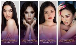 Nhiều thí sinh mới cuộc thi ảnh online Hoa hậu Hoàn vũ Việt Nam 2021 sở hữu vẻ đẹp sắc sảo cùng chiều cao ấn tượng