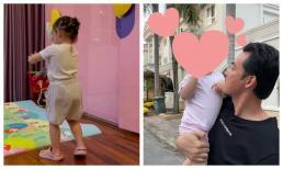 Quách Ngọc Ngoan khoe ái nữ nhún nhảy cưng xỉu sau 4 tháng xa cách, Phượng Chanel cũng vào tương tác