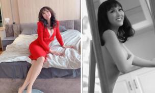 Bị nghi photoshop bóp eo đến nát hình khi tung ảnh táo bạo, Phi Thanh Vân lên tiếng