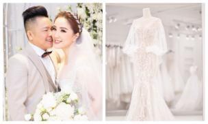 'Phát thèm' trước 3 bộ váy cưới của Bảo Thy ngày trọng đại
