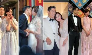 Ngắm cận cảnh 4 bộ trang phục đẹp miễn chê của Lâm Chí Linh trong đám cưới với chồng trẻ