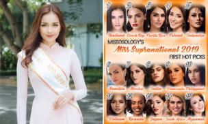 Ngọc Châu lọt top 15 người đẹp được đánh giá cao tại Hoa hậu Siêu Quốc gia 2019