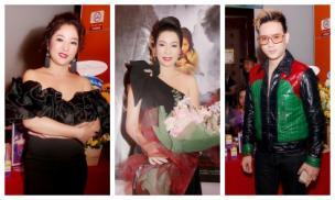 Thuý Nga, Nguyên Vũ, Trung Dân... đến chúc mừng NSƯT Trịnh Kim Chi