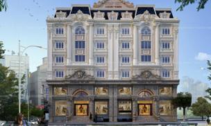 Cho thuê văn phòng phong cách Hoàng gia - Pháp Việt Luxury Tower