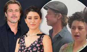 Hậu chia tay Angelina Jolie, Brad Pitt bị bắt gặp hẹn hò với nữ diễn viên kém 25 tuổi