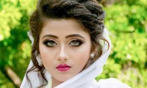 Thiếu nữ Ấn Độ có màu mắt hiếm khoe ảnh váy cưới khiến triệu thanh niên bấn loạn