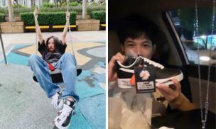 Sao Việt đua nhau tậu giày hoa cúc của G-Dragon: Phương Ly gây ấn tượng nhất